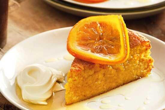 عکس, آموزش کیک پرتقالی با طعم و بویی قوی