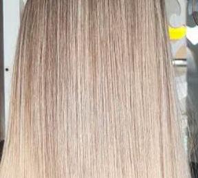 عکس, فرمول تخصصی رنگ موی زیتونی شنی طلایی