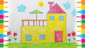 عکس, ایده نقاشی ساده طبیعت برای دبستانی های عزیز