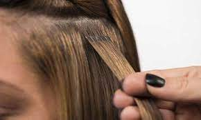 عکس, پر پشت کردن جلوی موی سر با اکستنشن دائمی