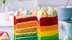 عکس, کیک رنگین کمانی فیلم آموزشی