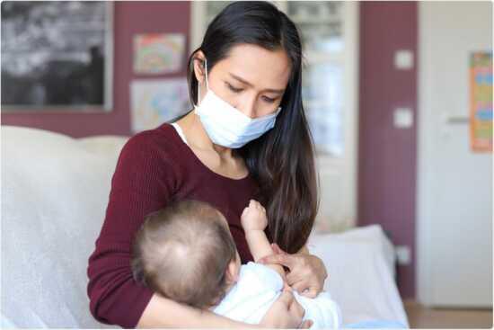 عکس, شیر مادر واکسینهشده برای کودکش شبیه واکسن است