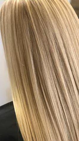 عکس, ساخت و فرمول رنگ موی طلایی کاراملی