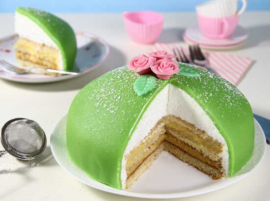 عکس, آموزش کامل کیک شاهزاده سوئدی و آموزش خامه آن