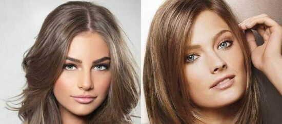 عکس, آموزش رنگ کردن مو به رنگ گردویی