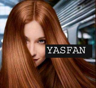 عکس, آموزش برای رنگ موی مسی شکلاتی بامش فندقی کاراملی