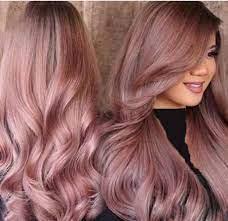 عکس, آموزش دقیق ترکیب رنگ موی رزگلد