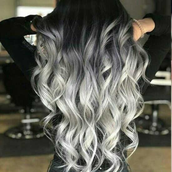 عکس, فرمول خاص ترین و زیباترین رنگ موی آمبره