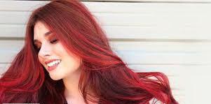 عکس, آموزش فرمول دقیق رنگساژ قرمز روی موها