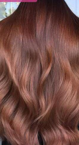 عکس, فرمول رنگ موی شکلاتی مسی و نسکافه ای