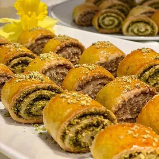 عکس, روش پختن اصولی شیرینی نازک قزوینی