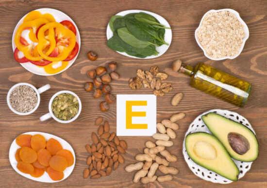 عکس, منابع طبیعی و خوراکی های سالم دارای ویتامین ای