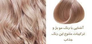 عکس, چگونه بدون دکلره موهای خود را بژ کنیم