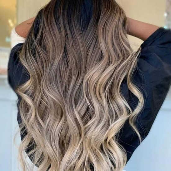 عکس, فرمول خاص ترین رنگ مو بالیاژ دخترانه