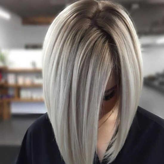 عکس, رنگ دودی یخی برای موها با این فرمول