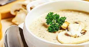 عکس, آموزش سوپ مرغ و قارچ خاص