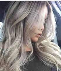 عکس, فرمول ترکیب رنگ مو دودی یک رنگ پر طرفدار بین خانم ها