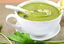 عکس, بهترین روش پختن سوپ اسفناج را یاد بگیر
