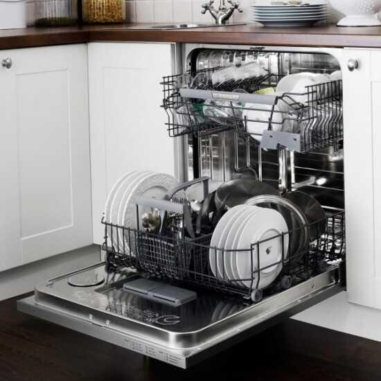 عکس, نکات چیدن سبد بالایی و پایینی ماشین ظرفشویی