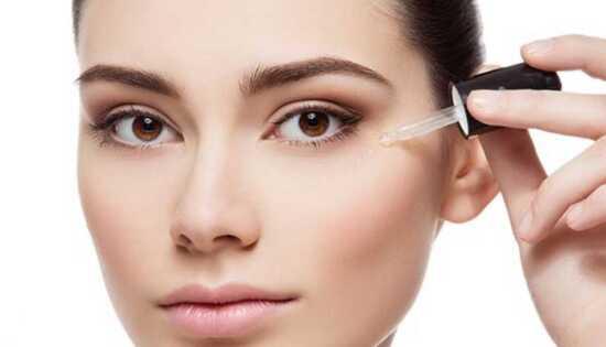 عکس, روش استفاده از کپسول ویتامین ای برای سیاهی دور چشم
