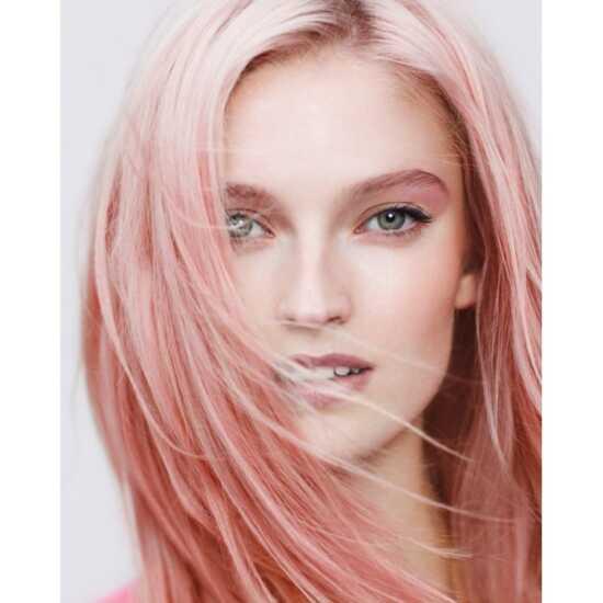 عکس, آموزش دقیق فرمول رنگ موی هلویی