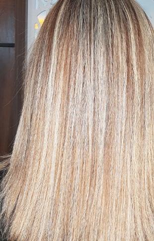 عکس, فرمول دقیق رنگ مو ترکیبی مرواریدی دودی با عکس