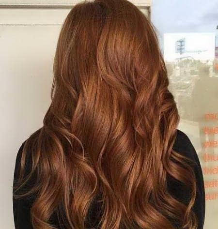 عکس, آموزش در آوردن رنگ موی عسلی تیره روی موها