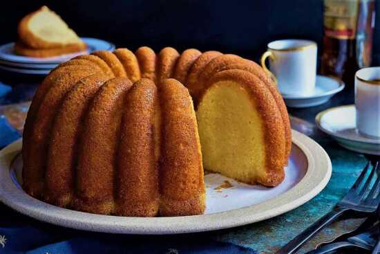عکس, پخت کیک ساده با کیک پز برقی و نکات آن