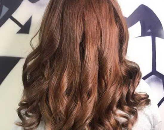 عکس, فرمول رنگ موی فندقی مسی و آموزش انتخاب رنگ