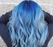 عکس, فرمول صحیح رنگ مو با رنساژ یخی آبی