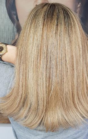 عکس, ترکیب رنگ مو شکلاتی دودی چه فرمولی دارد با عکس