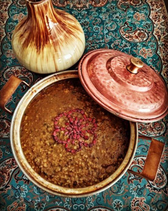 عکس, بهترین روش پختن سوپ بلغور