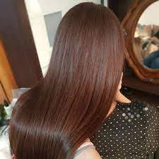 عکس, رنگ موی قهوه ای فندقی را چگونه روی موها در بیاوریم
