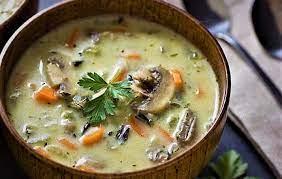 عکس, خوشمزه ترین روش پختن سوپ قارچ