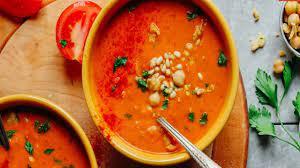 عکس, روش پختن سوپ غلیظ فلفل قرمز
