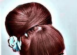 عکس, آموزش در آوردن رنگ شکلاتی شاه بلوطی روی موها