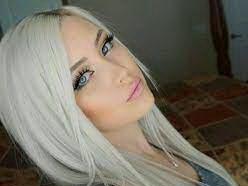 عکس, رنگساژ نقره ای یخی روی موها یک رنگ خاص و بی نظیر