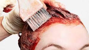 عکس, راه ساده برای رنگی نشدن پیشانی یا گوش و گردن با رنگ مو