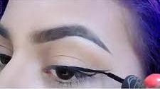 عکس, فیلم آموزش کشیدن خط چشم قلمی یا ماژیکی