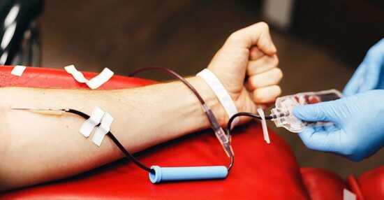 عکس, آیا بعد از واکسن کرونا می توانم خون هدیه کنم