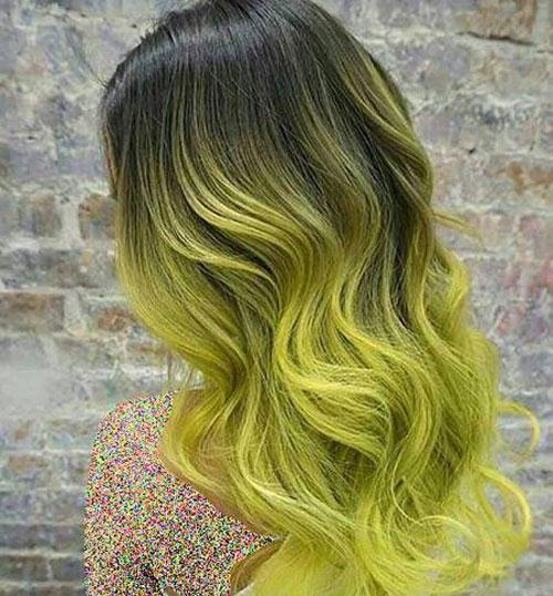 عکس, ترکیب رنگ مو طلایی و زرد با عکس و فرمول آن