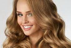 عکس, آموزش ترکیب رنگ موی طلایی شکلاتی روی مو