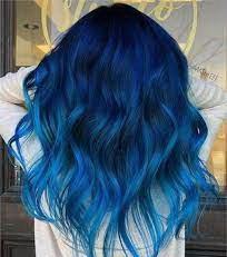 عکس, آموزش و عکس رنگ موی آبی اقیانوسی